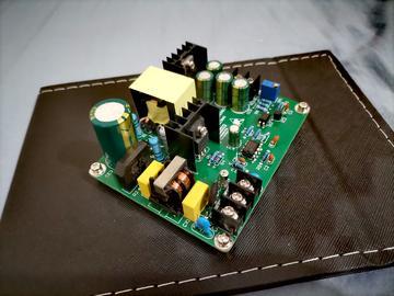 UC3842/3反激开关电源开发板设计学习入门PSIM仿真模型电路原理图