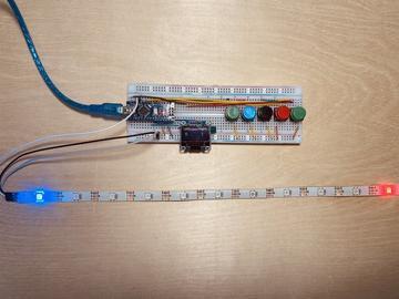 基于 Arduino Nano R3 的迷你乒乓球系统