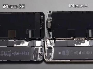]iPhone SE第二代拆解 屏幕等大部分元件和iPhone 8通用