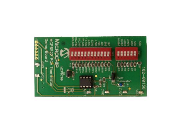 MCP9700热敏电阻demo板资料分享
