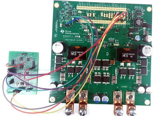 該設計引入電池測試系統中使大電流、高精度和雙向電源
