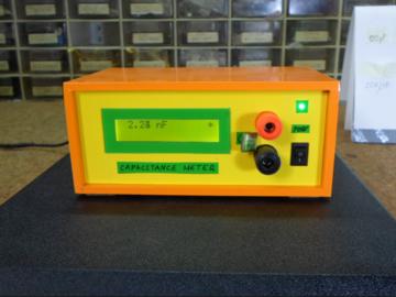 DIY简单的Arduino自动量程电容表