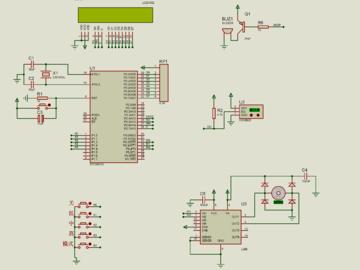 基于单片机的温控风扇的设计(仿真+源码+原理图+设计流程+硬件清单+视频讲解)
