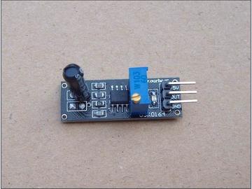 振动传感器电路方案(原理图+测试程序)