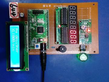 基于MSP430F149单片机的脉搏测试仪设计-4位共阳-脉搏-(电路图+程序源码)