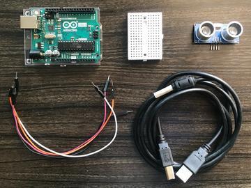 超声波传感器和Arduino的基本设置