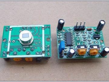 热释电模块电路方案设计(原理+手册+成品)