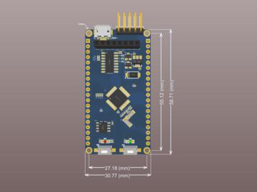 STM32F103C8T6最小系统(PCB+原理图)