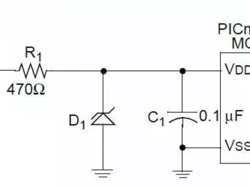基于齐纳二极管的5V转3.3V电源电路设计
