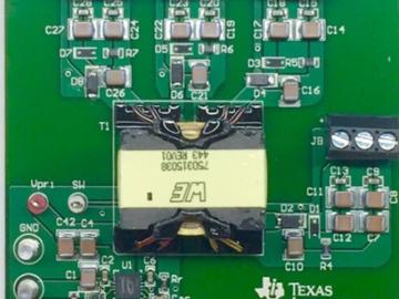 用于三相逆变器的宽输入隔离型IGBT栅极驱动Fly-Buck电源电路设计