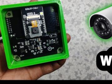 基于ESP32的安全摄像头设计