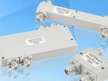 Pasternack新品混合耦合器问世,高频工作范围高达40 GHz,适用于宽带应用