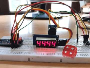 基于Arduino Nano 的电子骰子