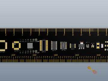 用Altium Designer自制PCB尺子电路方案