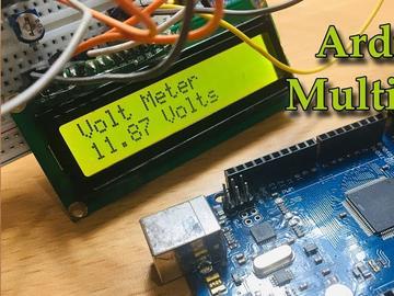 基于Arduino的电压表