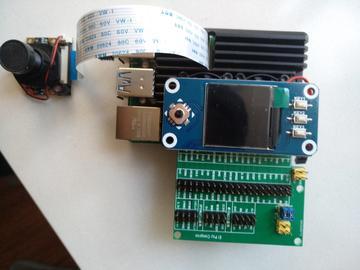 树莓派4B扩展电路