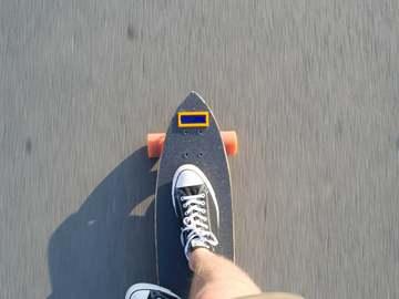 基于树莓派的滑板测速表
