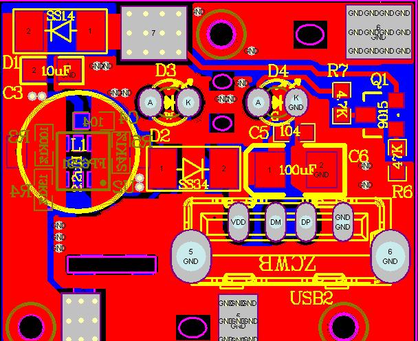 多晶硅、單晶硅小型太陽能板放電電路