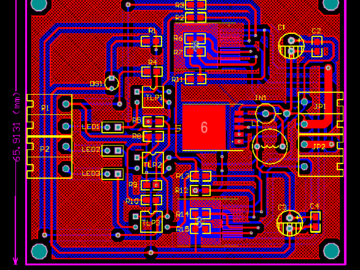 基于BTS7960大功率直流電機驅動板電路設計