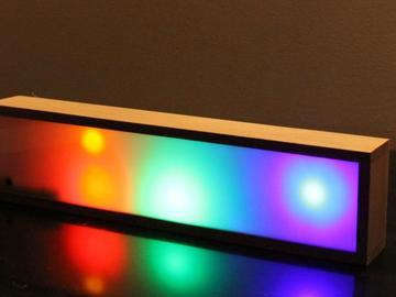 基于Audio的便携式迪斯科 LED