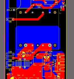 DC110V转12V5V车载电源板ALTIUM AD设计原理图+PCB+BOM文件