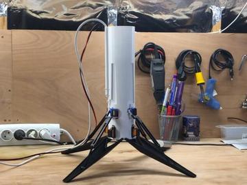 美国技术大神受SpaceX启发,打造一枚火箭形状的直升机