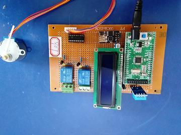 基于STM32单片机的智能家居设计DHT11-RELAY-WiFi-(源码+电路图)