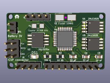 基于 Atmega328P-PU 的EEPROM