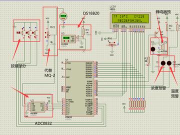 智能烟雾温度监测预警系统设计