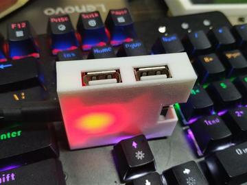 基于带有串口的FE2.1接口的USB HUB