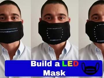 基于Arduino的表情跟随LED 面罩