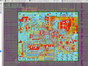 NXP CORTEX-A9四核 IMX6Q核心板(12层)+接口开发底板(6层) ALTIUM AD设计原理图+ PCB+BOM文件