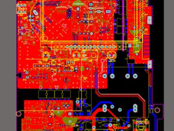 RN8029D RN8029C单相电表计量设计软硬件资料包括PROTEL设计原理图PCB参考设计资料