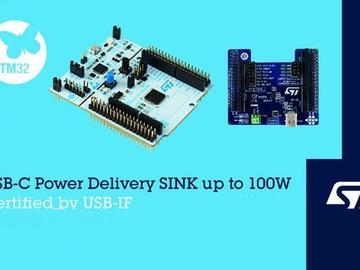 意法半导体发布USB-IF认证开发板,助力设备厂商升级更新电池供电产品