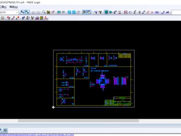 STM32L151开发板,PADS