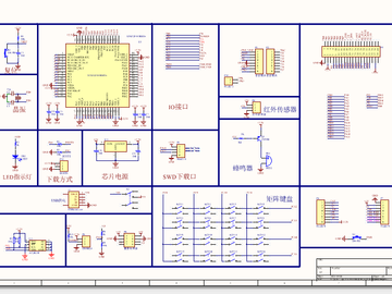 基于STM32的智能家居安防系统设计