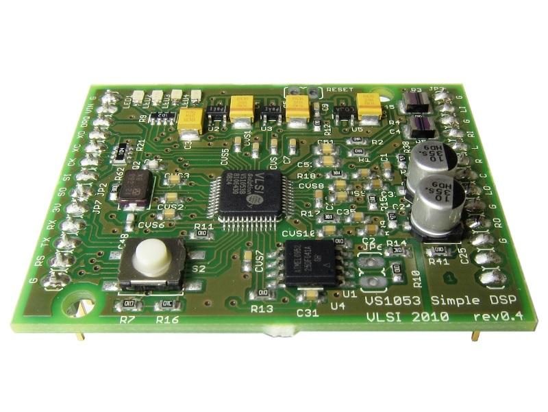 VS1063/VS1053/VS8053 音频DSP套件硬件开源及应用