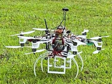 紧凑型重型通信无人机的设计