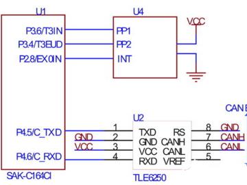 ESP中传感器以及接口技术的电路解析
