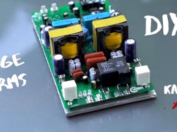 内置SMD的超高功率放大器D类全桥D2K