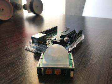 使用PIR传感器的防盗警报器设计