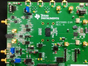 集成模拟前端,基于AFE5809的SONAR接收路径子系统电路设计
