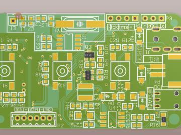 1元以内成本433/315无线遥控器解码 电路设计方案(原理图+例程+pcb+说明)