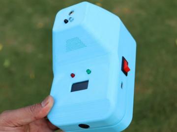 DIY非接触式红外测温仪
