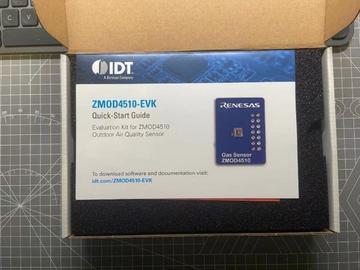 工程师的便携式空气质量监控站 ——ZMOD4510-EVK评估套件评测