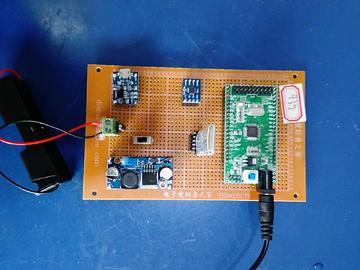基于STM32单片机的陀螺仪设计-MPU6050-蓝牙-tp4056-rtc-(电路图+程序源码)