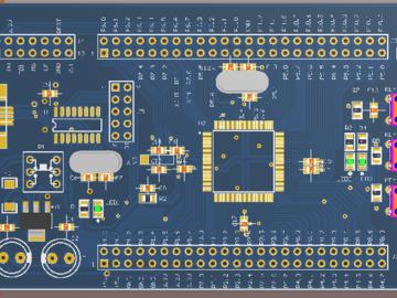 助你低成本DIY制作-msp430f5438A最小系统板,附原理图/PCB源文件