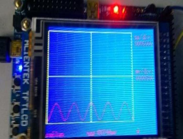 畢業設計-STM32單片機-數字示波器(硬件設計+源碼+設計文檔)