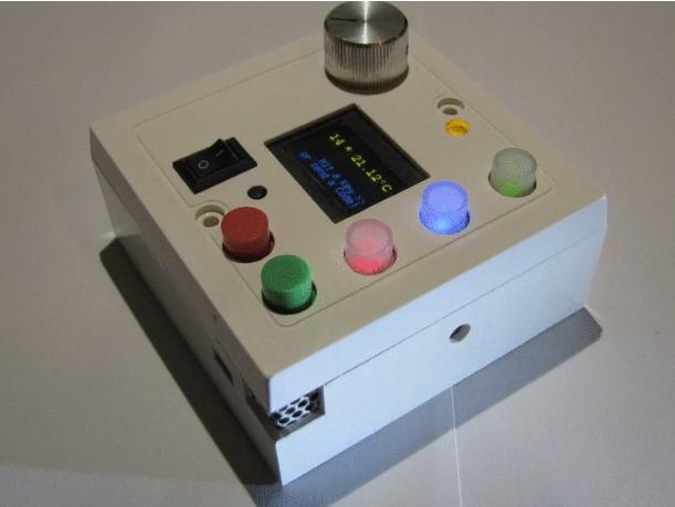 智能温控器,通风和灯光控制与蓝牙