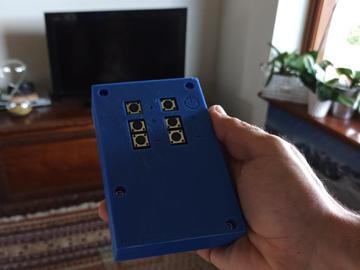 自制电视遥控器